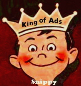 Click on Snippy to visit our Newly Born Facebook Page, King-of-Ads
